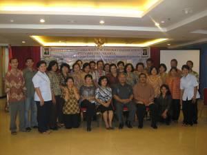 Foto bersama para GAK DKI Jakarta dengan Dirjen Bimas Katolik